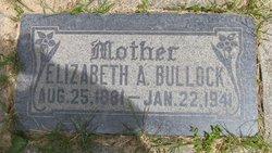 "Elizabeth ""Lizzie"" <I>Armitstead</I> Bullock"
