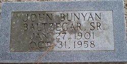 John Bunyan Baltzegar, Sr