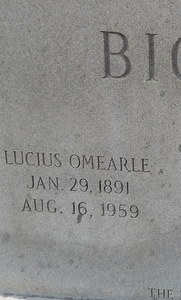 Lucius Omearle Bickley