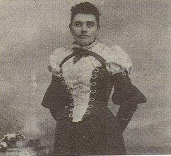 """Fanny Ida """"Ida"""" <I>Rogers</I> Cotter"""