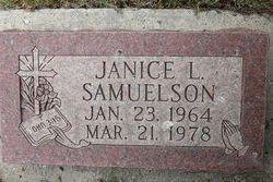 Janice L Samuelson