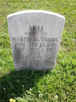 Anna <I>Rice</I> Althouse