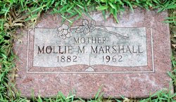 Mollie <I>Thurmond</I> Marshall