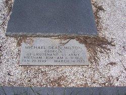 1LT Michael Dean Milton