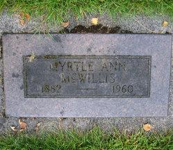 Myrtle Ann McWillis