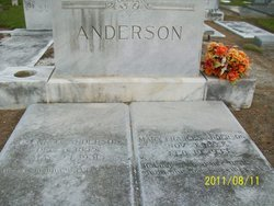 Mary Frances <I>Stanfield</I> Anderson