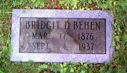 Bridgit Deliah <I>Conners</I> Behen