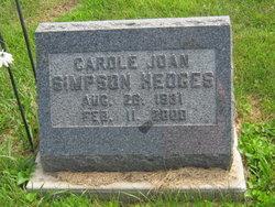 Carole Joan <I>Simpson</I> Hedges