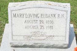 Mary <I>Loving</I> Eubank