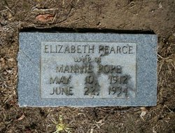 Elizabeth <I>Pearce</I> Pope