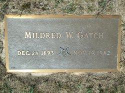 Mildred <I>Webb</I> Gatch