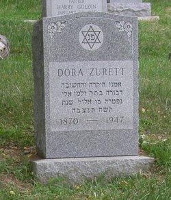 Dora <I>Kitzen</I> Zurett