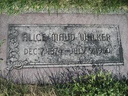 Alice Maude <I>Carlos</I> Walker