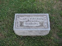Mary Diadema <I>Cotton</I> McBride