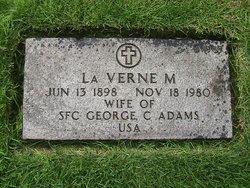 "La Verne May ""Babe"" <I>Knerr</I> Adams"