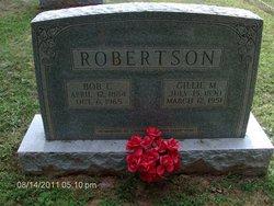 Gillie Moorman <I>Dillon</I> Robertson
