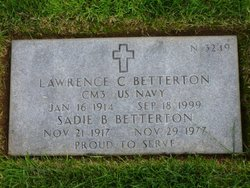 Sadie B Betterton