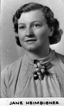 Jane Esther <I>Heimbigner</I> Davis