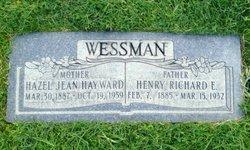 Hazel Jean <I>Hayward</I> Wessman