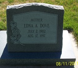 Edna Arvilla <I>Jones</I> Dove