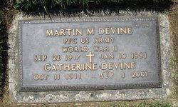 Martin M Devine