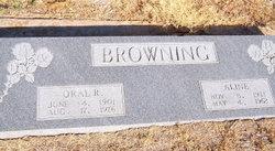 Verda Aline <I>Pittman</I> Browning
