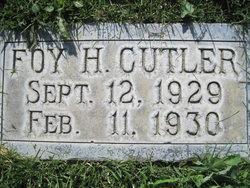 Foy H Cutler