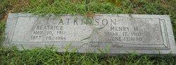 Beatrice <I>Hicks</I> Atkinson
