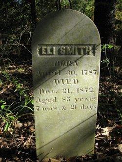 "Elijah Calvin ""Eli"" Smith"