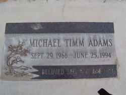 Michael Timm Adams
