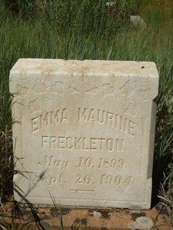Emma Maurine Freckleton