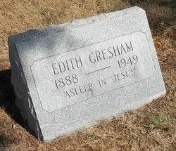 Edith Gresham <I>Puckett</I> Fowler