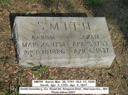 Sarah <I>Allen</I> Smith