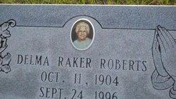 Delma <I>Raker</I> Roberts
