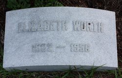"""Elizabeth """"Betty"""" Worth"""