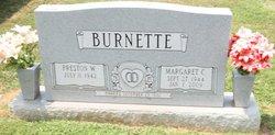 Margaret Lee <I>Campbell</I> Burnette