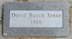 David Burch Jense