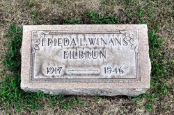 Frieda L. <I>Winans</I> Filbrun