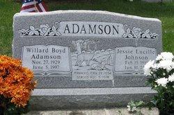 Jessie Lucille <I>Johnson</I> Adamson