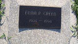 Erma P <I>Smith</I> Green