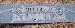 Ritta Alice <I>Phillips</I> Dittrich