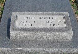 Ruth Elizabeth <I>Hood</I> Barrett