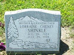 Alice Lorraine <I>Cheney</I> Shinkle