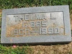 Thelma L <I>Woodmansee</I> Gibbs