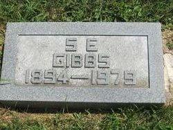 Silas E Gibbs