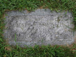 Agnes H <I>Domonell</I> Sedgwick