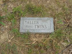Infant Twin Allen
