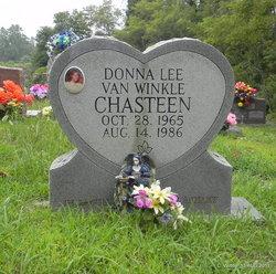 Donna Lee <I>Van Winkle</I> Chasteen