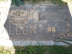 Florence <I>Curry</I> Allen