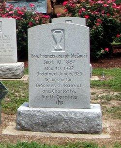 Rev Fr Francis Joseph McCourt